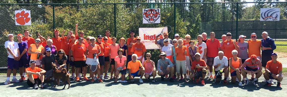 Tiger Tennis Day at Keowee Key 2017